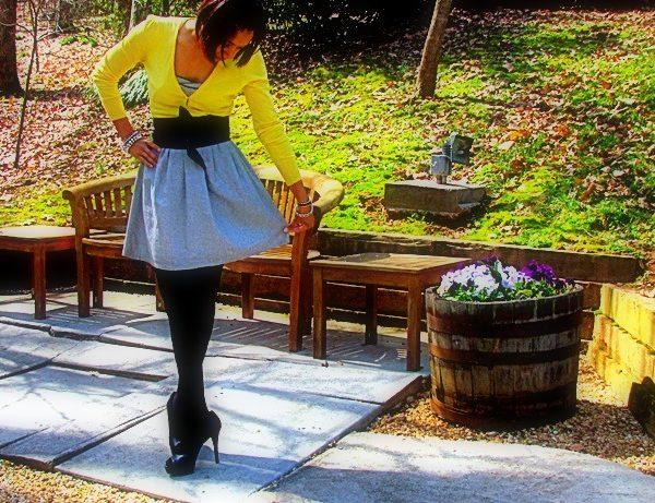 it's a dress… oh wait, it's a skirt!