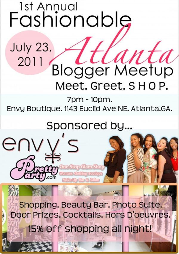 1st Annual Fashionable Atlanta Blogger Meet Up