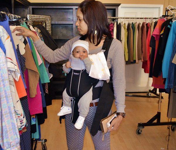 BABYBJÖRN + Shop A Blogger's Closet