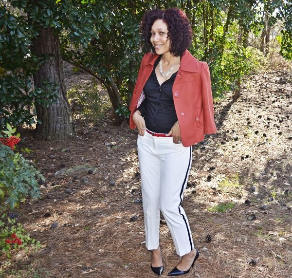 Style Me Friday:  White Pants