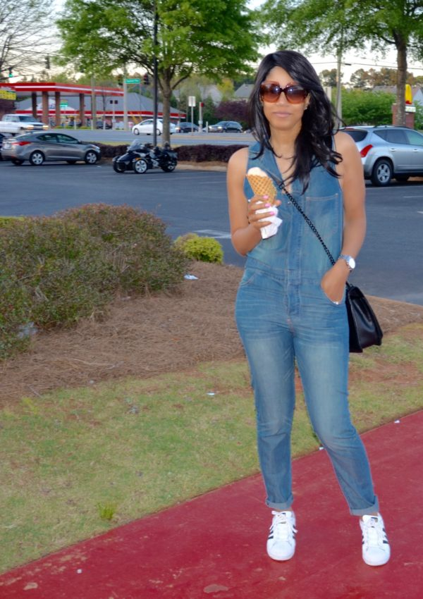 Summer Denim + Ice Cream