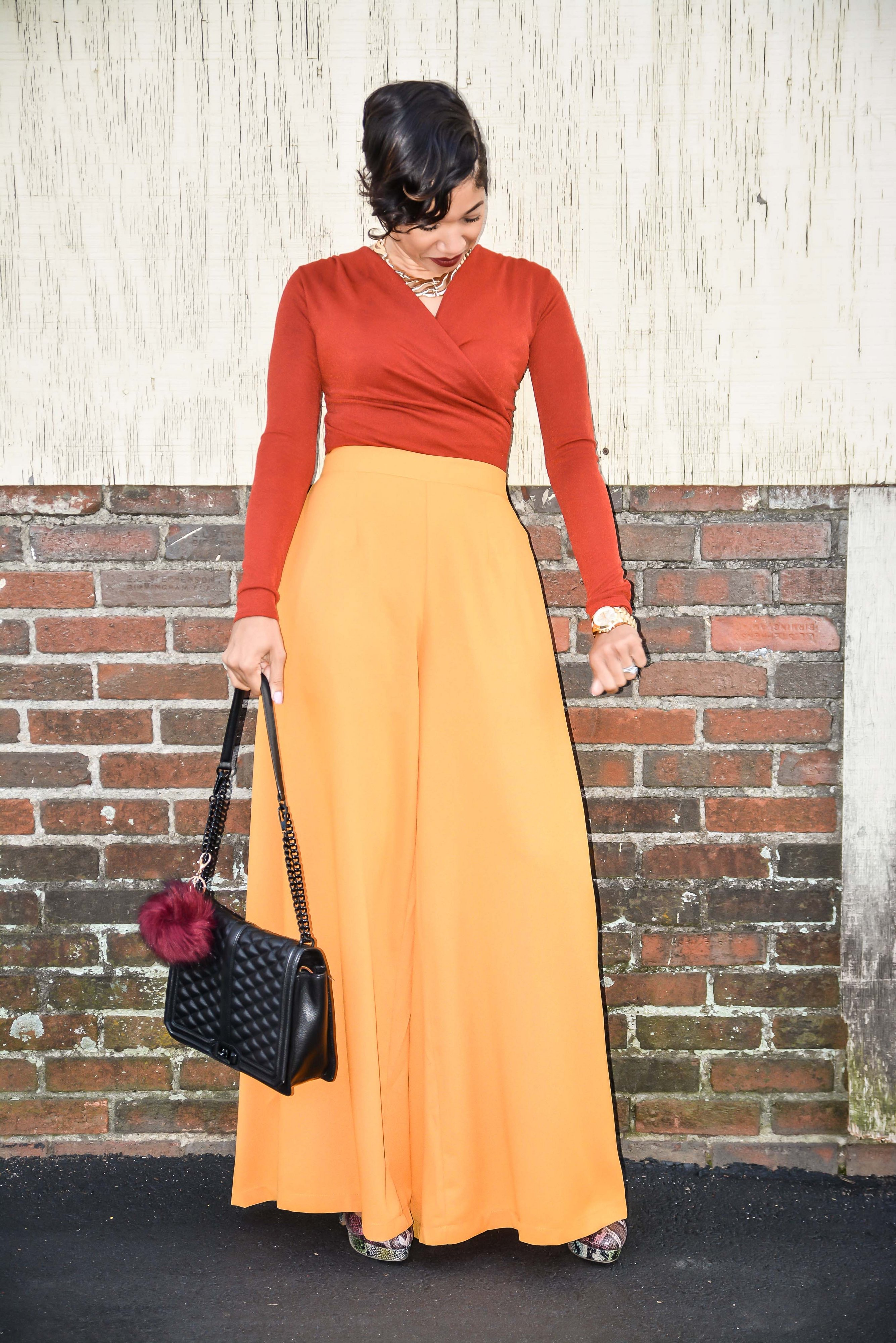 View More: http:/wide leg trousers_bodysuit/chareelenee