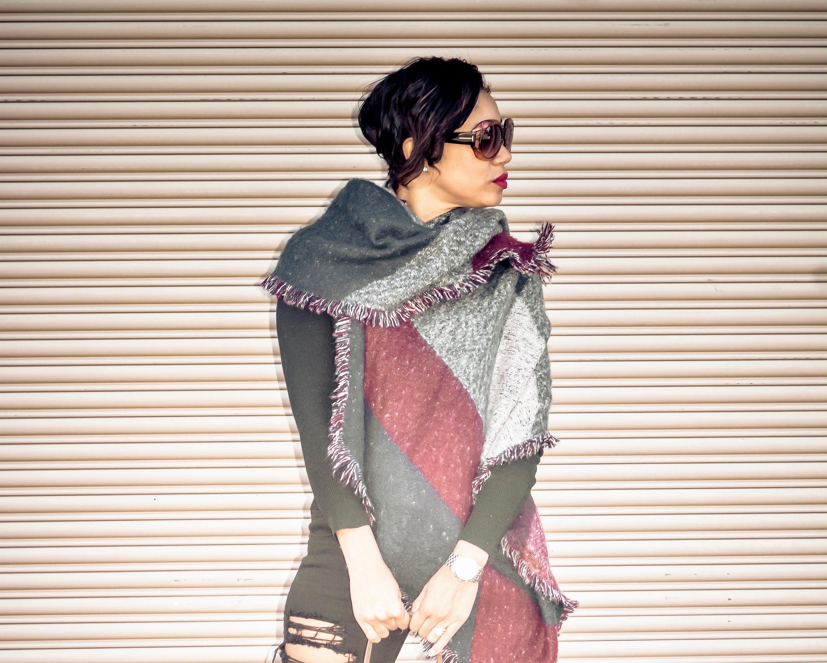 blanket scarf_chareelenee