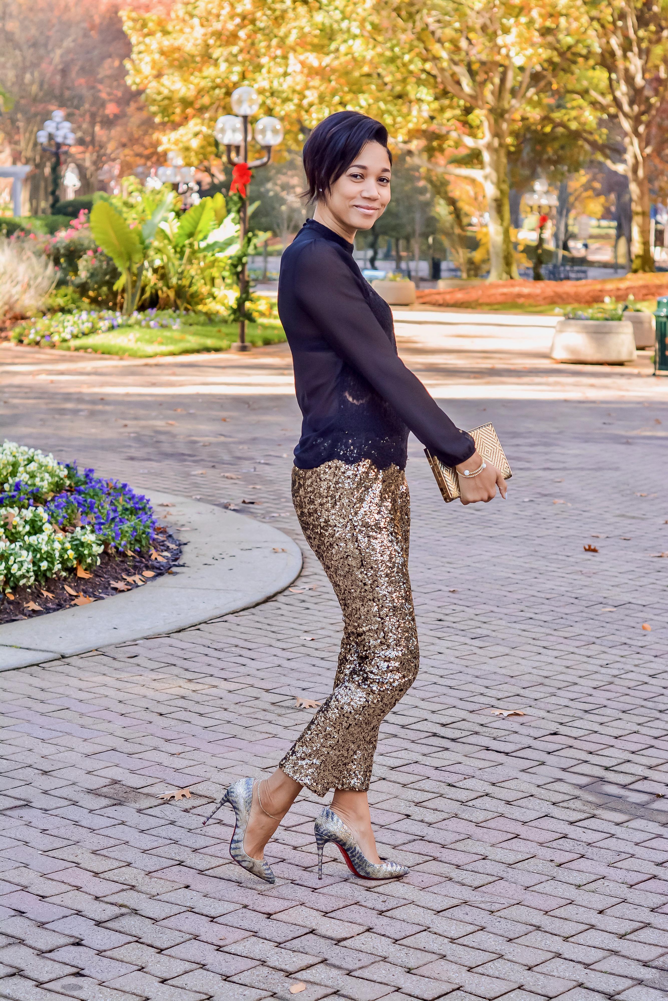 sequin pants_chareelenee